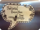 National Honey Bee Day Bubble